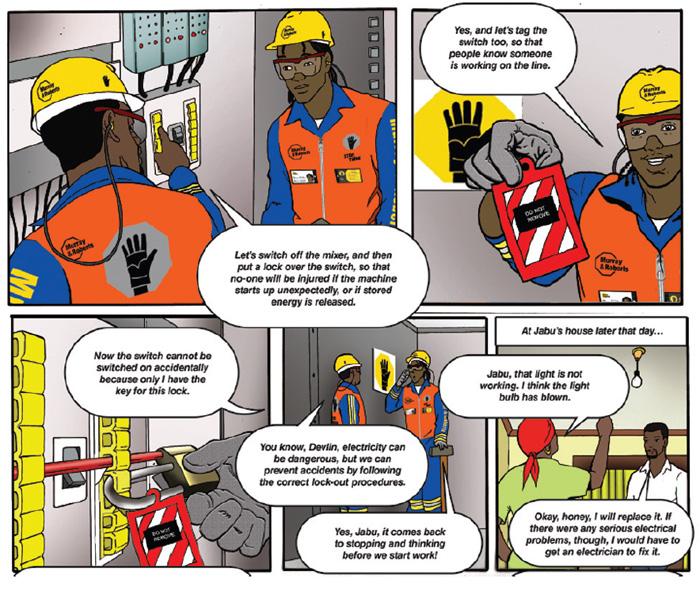 Impilo yethu comic strip
